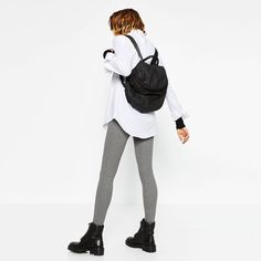 Image 2 of SOFT BACKPACK from Zara