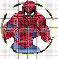 Gallery.ru / Foto n º 8 - Punto de Cruz Spiderman - tymannost