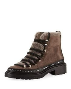 Rag & Bone Compass Mixed Media Hiker Boots
