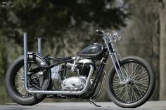 The Factory Metal Works is a custom sanctuary for old school bobbers. It's a place where the past infuses with the present, and crafts like this 1968 BSA A65 custom becomes an icon for passion and desire.
