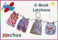 E-Book Latzhose / Retrolatzhose / Retrohose Overall Joschua (in schmal oder breit und viiiielen Variationsmöglichkeiten), auch für die Puppe (38cm), 50-110