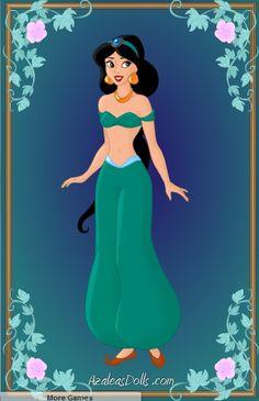 Princess Jasmine by PrincesaSevilla.deviantart.com on @deviantART