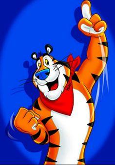 115 Best Tony The Tiger Images In 2019 The Tiger Cartoons Comics