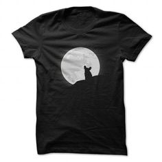 Frenchie Moon T Shirts, Hoodies. Get it here ==► https://www.sunfrog.com/Pets/Frenchie-Moon.html?57074 $22.99