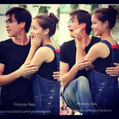 hehe touchy nadech! but i love it! #yadech Sweet Pic, Sweet Couple, Thai Princess, My Love From The Star, Couple Shots, Japanese Drama, Young Fashion, Actor Model, Cute Couples