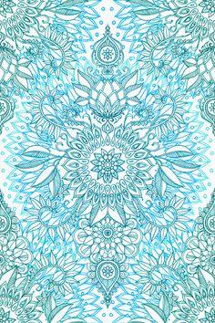 Imagen de blue, wallpaper, and mandala