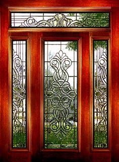 New Stained Glass Entry Door Inserts
