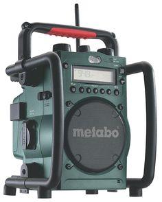 Metabo Radio RC 14.4-18 - Radio cargador de baterías 14,4 V y 18 V: Amazon.es: Bricolaje y herramientas