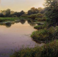 Kanaka Creek - June - by Renato Muccillo - oil on canvas