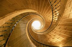 SPIRAL STAIRCASE IN SPAIN by Joao Paulo via gettyimages.com