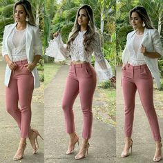 Beautiful Business Casual Attire for the Ladies For any graduates or recent professionals who are about to start working or working already and need some ideas about the appearance of a casual b… Classy Outfits, Chic Outfits, Fall Outfits, Summer Outfits, Fashion Outfits, Womens Fashion, Work Outfits, Ladies Outfits, 50s Outfits