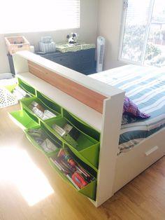 TRONES storage + headboard! - IKEA Hackers - IKEA Hackers