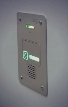 Awesome one-family doorphone from Radbit - highlighted call buton and silver anoda sklep.radbit.pl