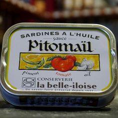 Sardines Sauce Pitomaïl