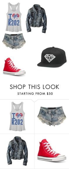 """""""Casual"""" by kaetheturtle on Polyvore featuring One Teaspoon, American Eagle Outfitters, Converse, women's clothing, women's fashion, women, female, woman, misses and juniors"""