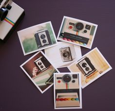 camera collection - three mini prints of your choice. $4.00, via Etsy.