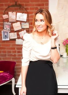 I love LC's casual/chic look and also the stylized pictures in this article are so pretty