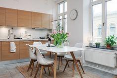 Un piso con estilo escandinavo