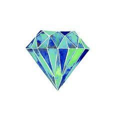 Watercolor, Watercolor print, Watercolors paintings print, watercolours, watercolor diamond, gem art, diamond painting, watercolor gem