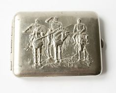 Vintage cigarette case from Soviet union