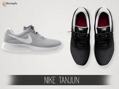 Nike Tanjun Sneakers for The Sims 4