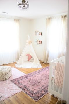 Home // Whimsical, Bohemian Girl's Nursery - Lauren McBride
