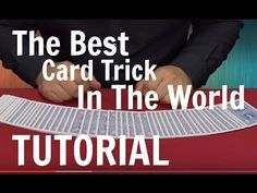 Do you want to make your family and friends fascinated by your enthralling magic trick performance? You could fulfill your wish by acquiring easy card magic tricks. As magic tricks are the most enticing skill that people dream to Card Tricks For Beginners, Magic Tricks Videos, Cool Card Tricks, Magic Card Tricks, Cool Magic Tricks, Card Tricks Revealed, 21 Cards, Sleight Of Hand, Cool Cards