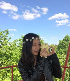 Let's enjoy Bianglala with instax mini8 yellow!!!