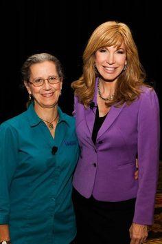 Caregiver advocates Leeza Gibbons and Teepa Snow.  Great info!