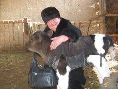 Microloans to lovely people like Lira in Kyrgyzstan, pictured here, through Kiva.org