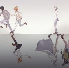 Yakusoku no Neverland (The Promised Neverland) Image - Zerochan Anime Image Board Sad Anime, Otaku Anime, Anime Guys, Manga Anime, Anime Art, Hxh Characters, Estilo Anime, Animation, Fanarts Anime