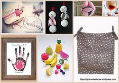 Idées cadeaux naissance, DIY, sac poussette, fruits dinette