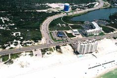 High shot of the Grand Caribbean boat launch and SummerChase condo.  Click the link to visit our website and view current Orange Beach, AL homes for sale.  http://www.condoinvestment.com/orange-beach-al-subdivisions.php