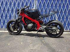 Street Fighter Honda CBR 600 F2 1991 Pictures