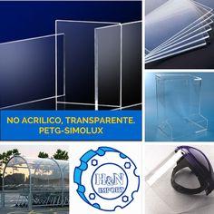 Planchas de PETG, marca Simolux, No acrílico Transparente, Lima, Perú
