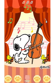Snoopy and Woodstock music