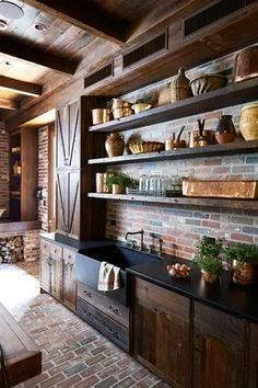 Mind blowing dark brown kitchen design ideas stylish. The elegance of gray is that it appears to double up both as a beautiful toneless color and a curated, dark color depending on exactly how that is used.