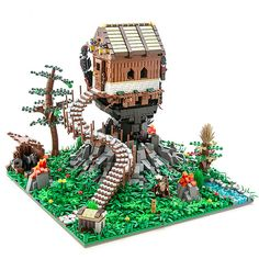 Tree houses are so yesterday #LEGO #legostagram #legomoc #legomocs #legobuilding #legobuilder #legomedieval #wedgwood #legonerds #legonerd #legocollection #legocollector #legomasterbuilder #legobricks #toybrick #bricktoys #bricktoy #legohouse #legos #moc #mocs #treehouse #treehouses #legominifigure #minifigure #legofantasy #fantasy #fantastic