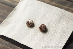 Craftaholics Anonymous® | Easy DIY Druzy Stud Earrings
