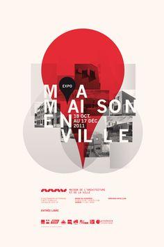 maisonenville mav poster by Les produits de l'épicerie