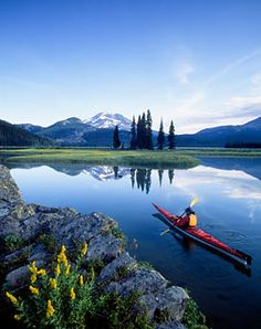kayaking Sun River, Bend, Oregon, Mountain Lakes! I can not believe this is going to be my  home in 3 months!! :))