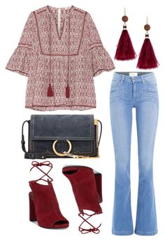 """""""Untitled #184"""" by ivana-j ❤ liked on Polyvore featuring Paige Denim, Talitha, Kenneth Cole, Kate Spade and Chloé"""