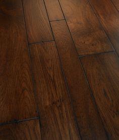 Artisan Wire-Brushed Engineered Hardwood Flooring - Estate Rochepor Hickory