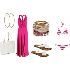 """fun beach outfit"" on Polyvore"
