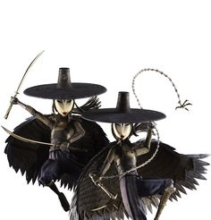 Image result for witches from kubo and the two strings costume diy