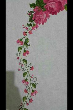 Cross Stitch Heart, Cross Stitch Flowers, Cross Stitch Patterns, Train Info, Classic Toys, Blackwork, Hand Embroidery, Bargello, Needlework