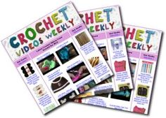 Latest Crochet Videos From Around the Web