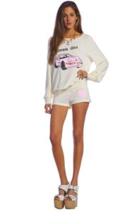 Wildfox Couture California Girl Yacht Club Shorts $38.40 www.hintboutique.com