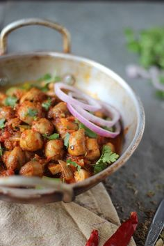 Kadai Mushroom  Indian spiced mushrooms  Vegan & gluten free