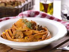 Receta de Pasta Vegana Cremosa al Chipotle